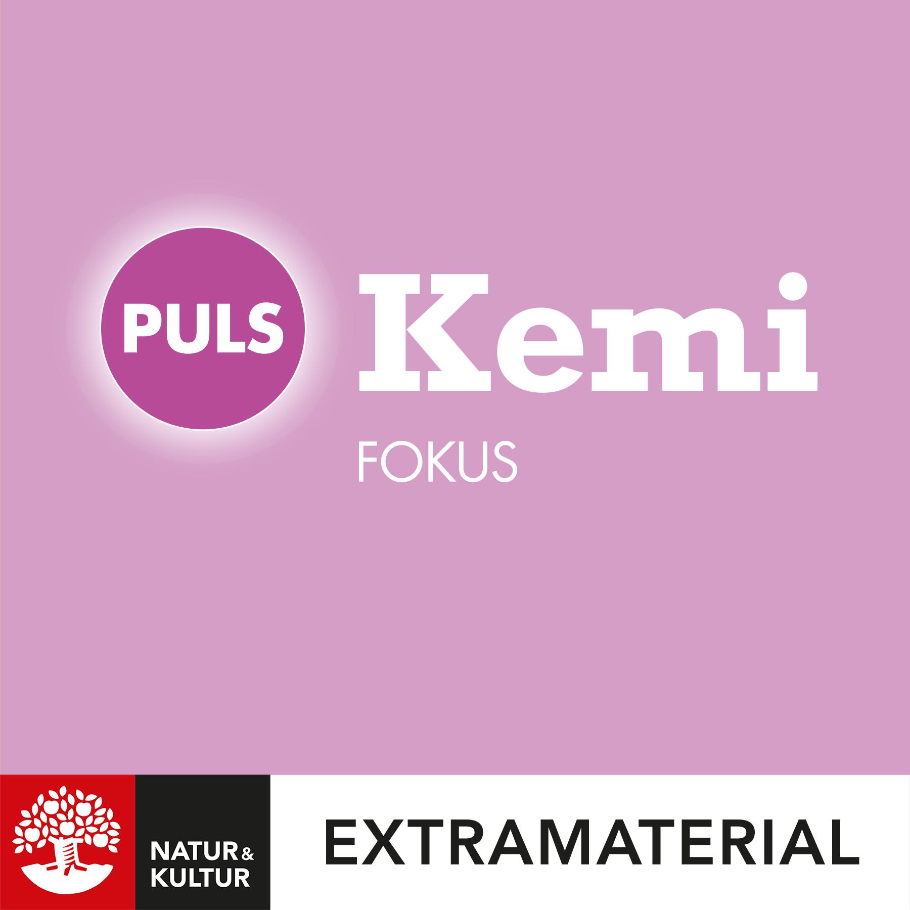 PULS Kemi Fokus 7-9