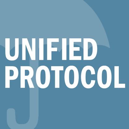 Unified protocol Terapeutmanual