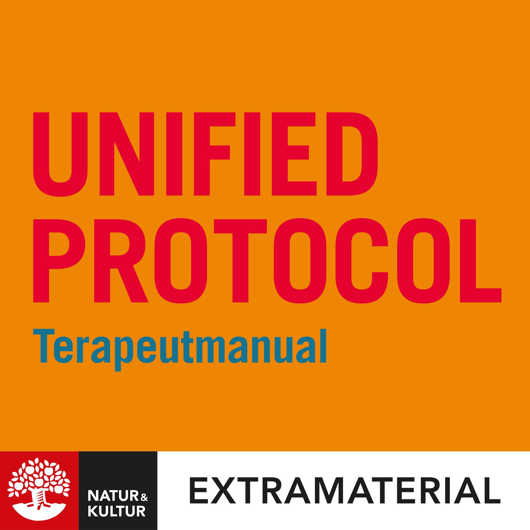 Unified protocol - Terapeutmanual, 2:a utgåvan