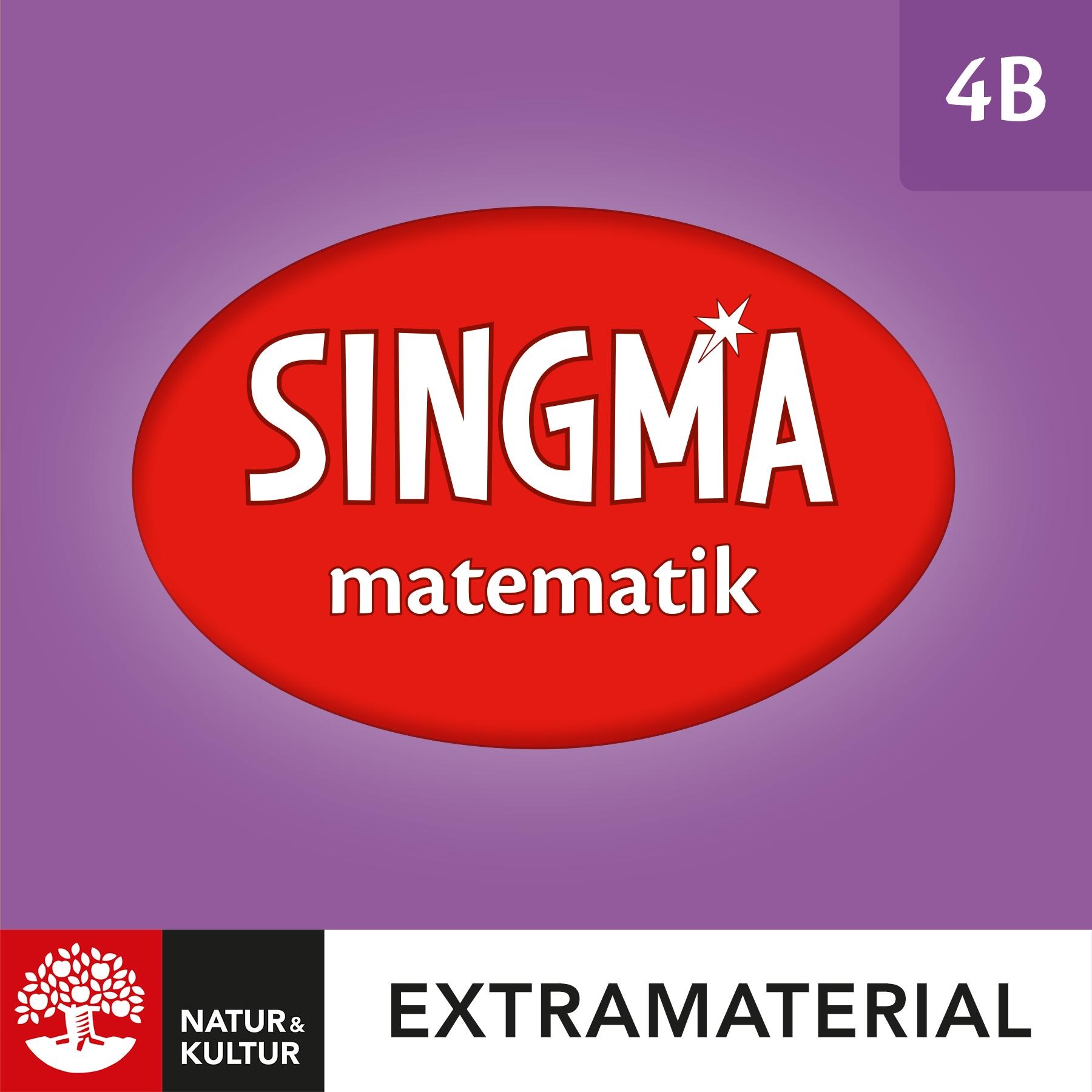 Singma matematik 4B