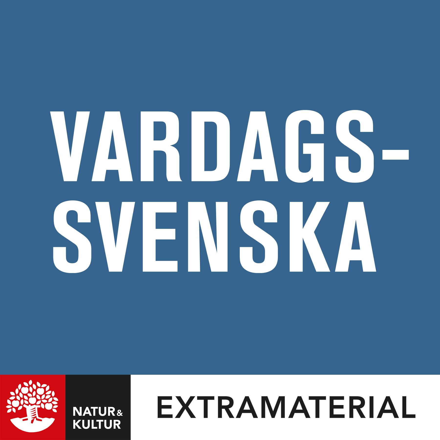 Vardagssvenska