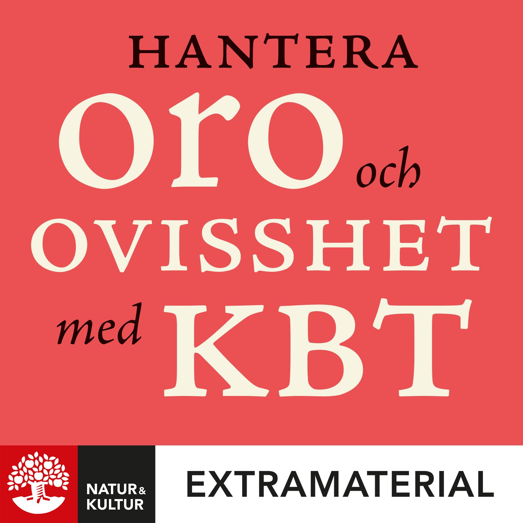 Hantera oro och ovisshet med KBT