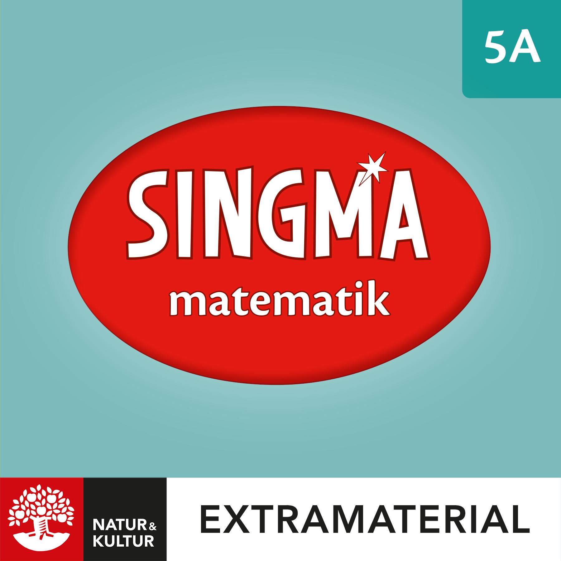 Singma matematik 5A