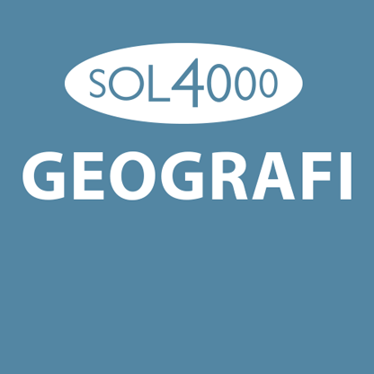 SOL 4000 Geografi 7