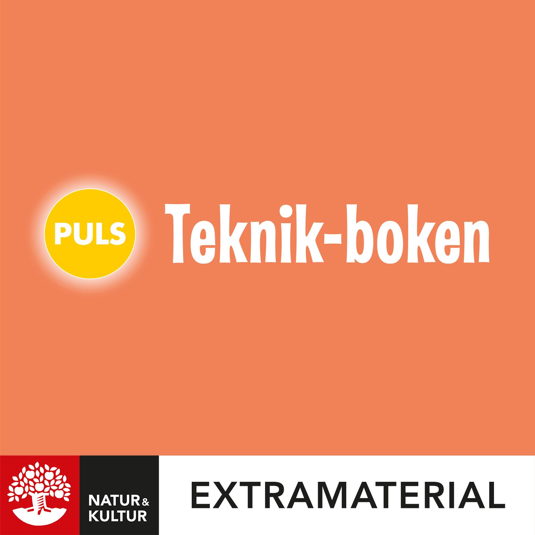 PULS 1-3 Teknik-boken
