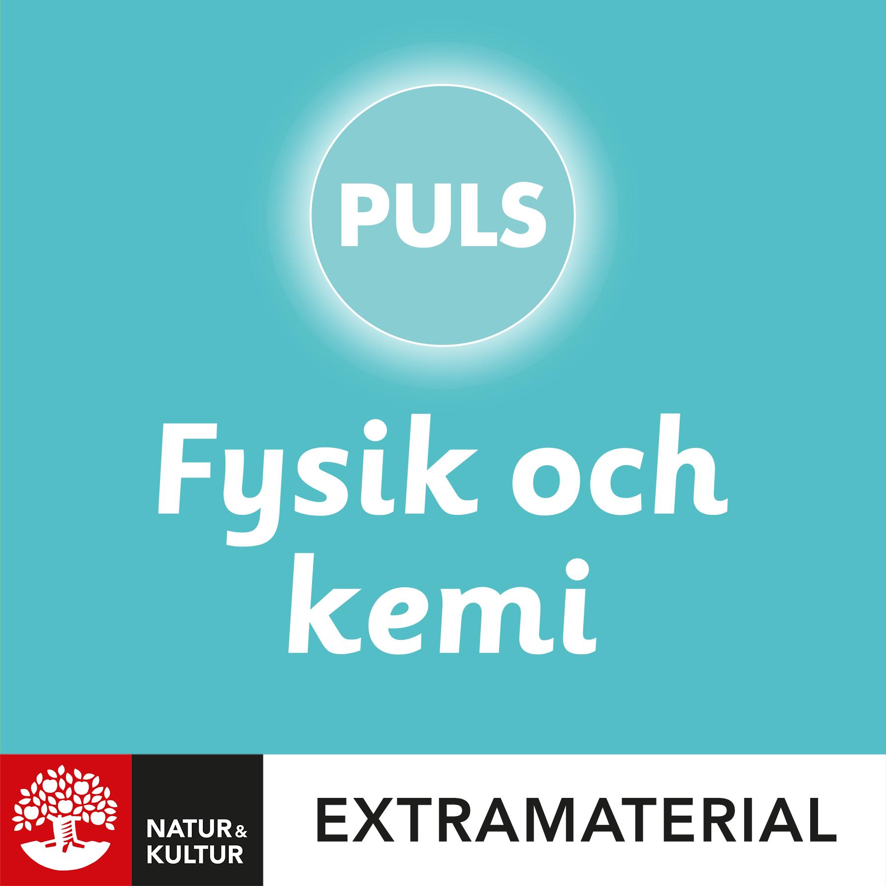 PULS 4-6 Fysik och kemi