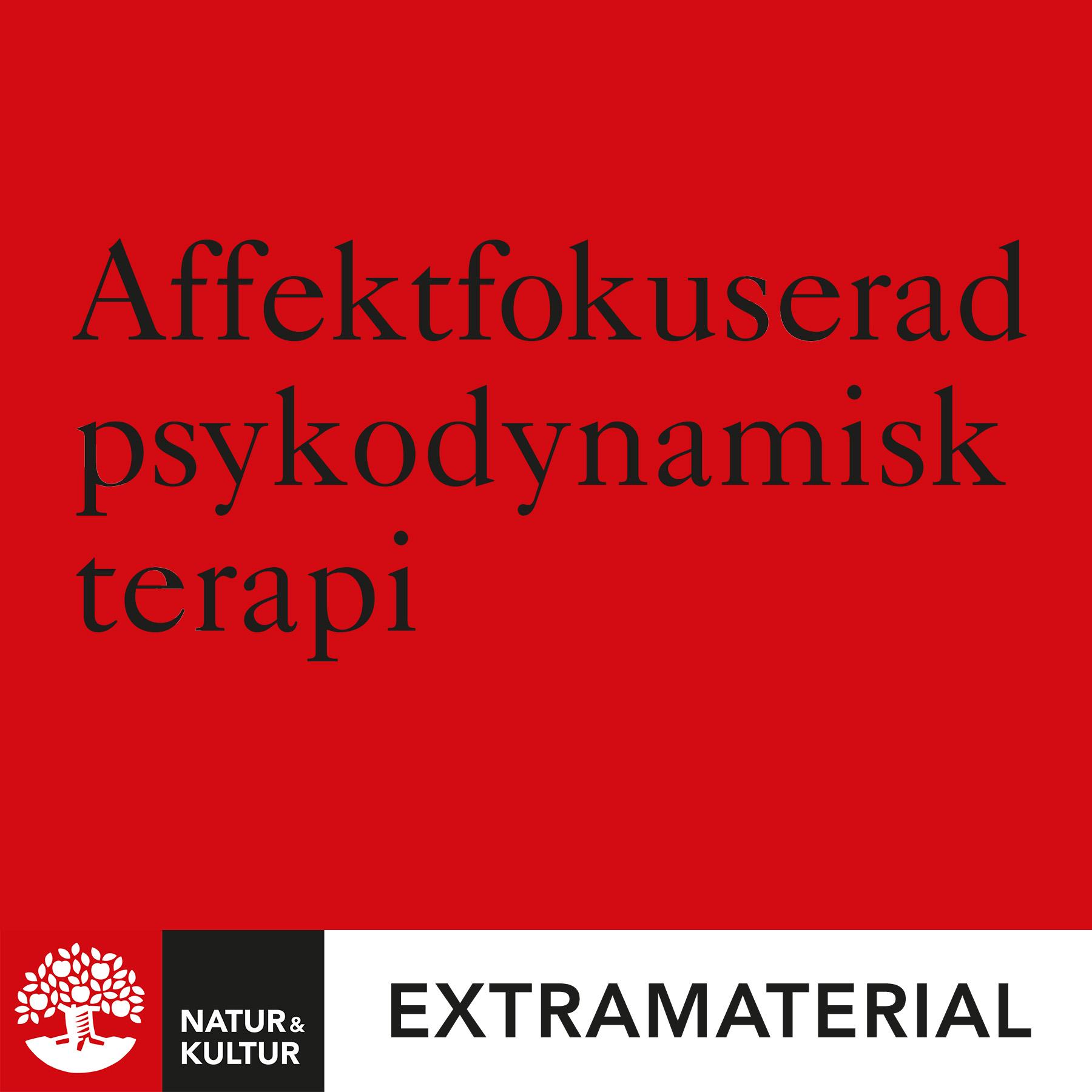 Affektfokuserad psykodynamisk terapi