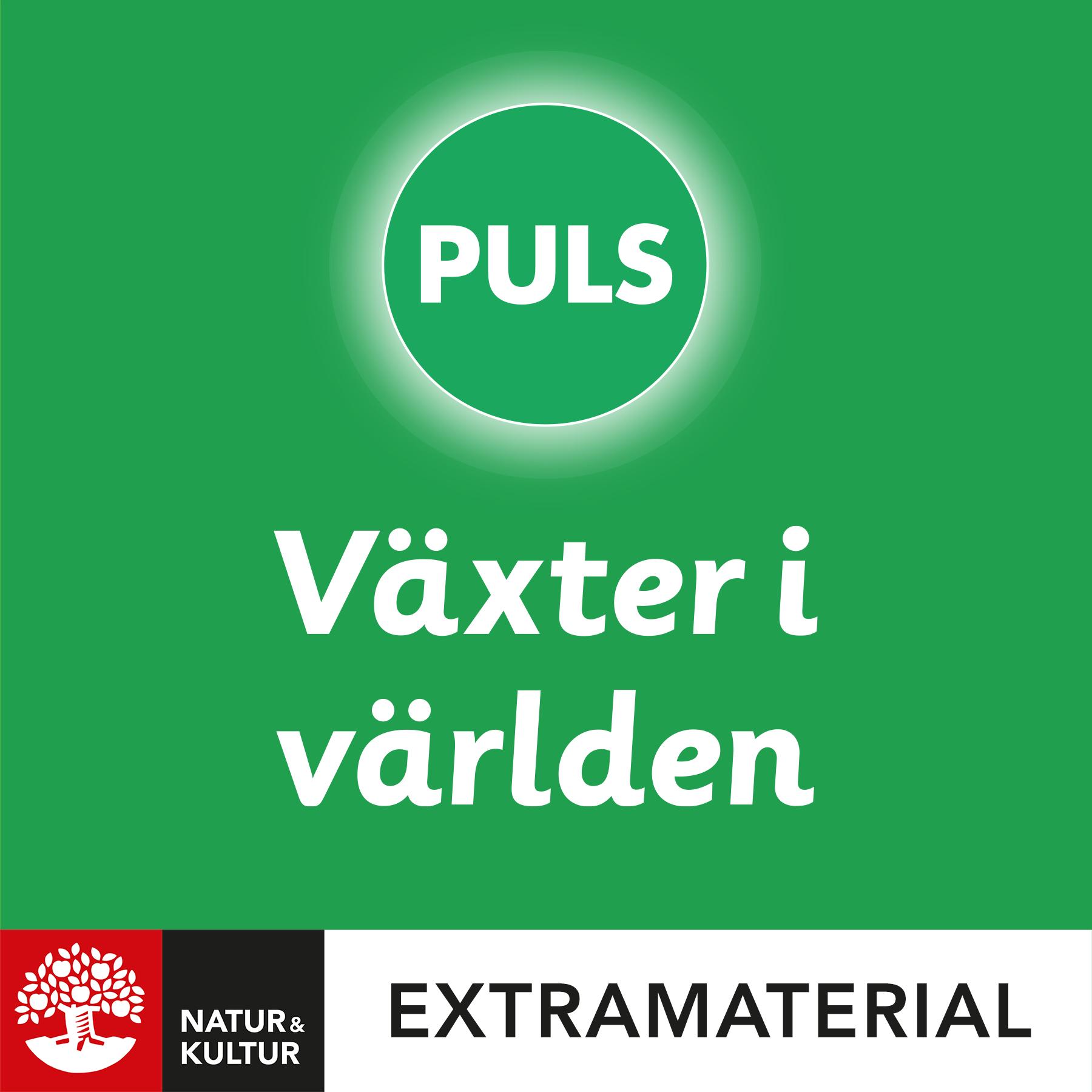 PULS 4-6 Växter i världen