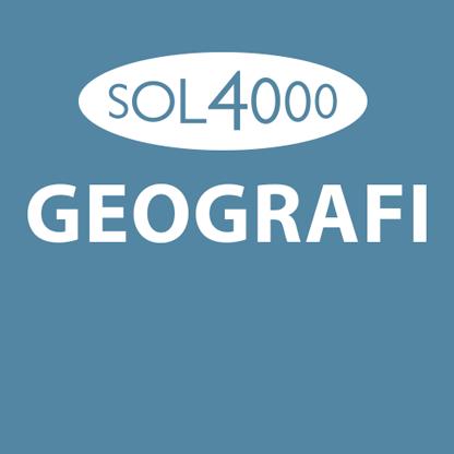 SOL 4000 Geografi 8