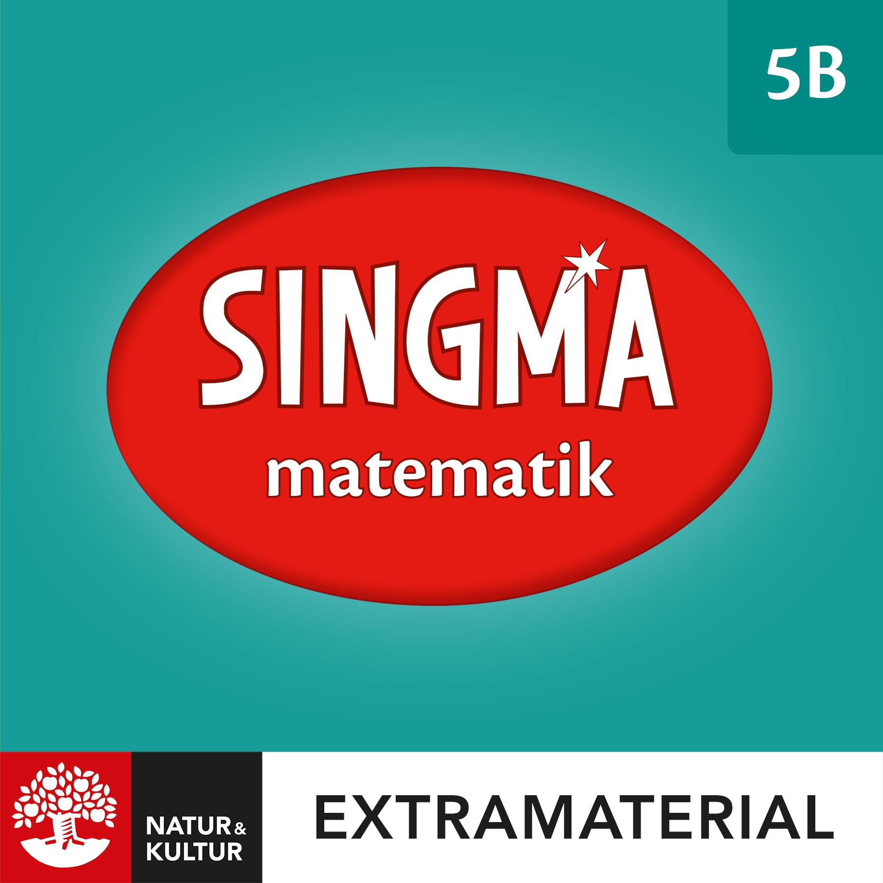 Singma matematik 5B