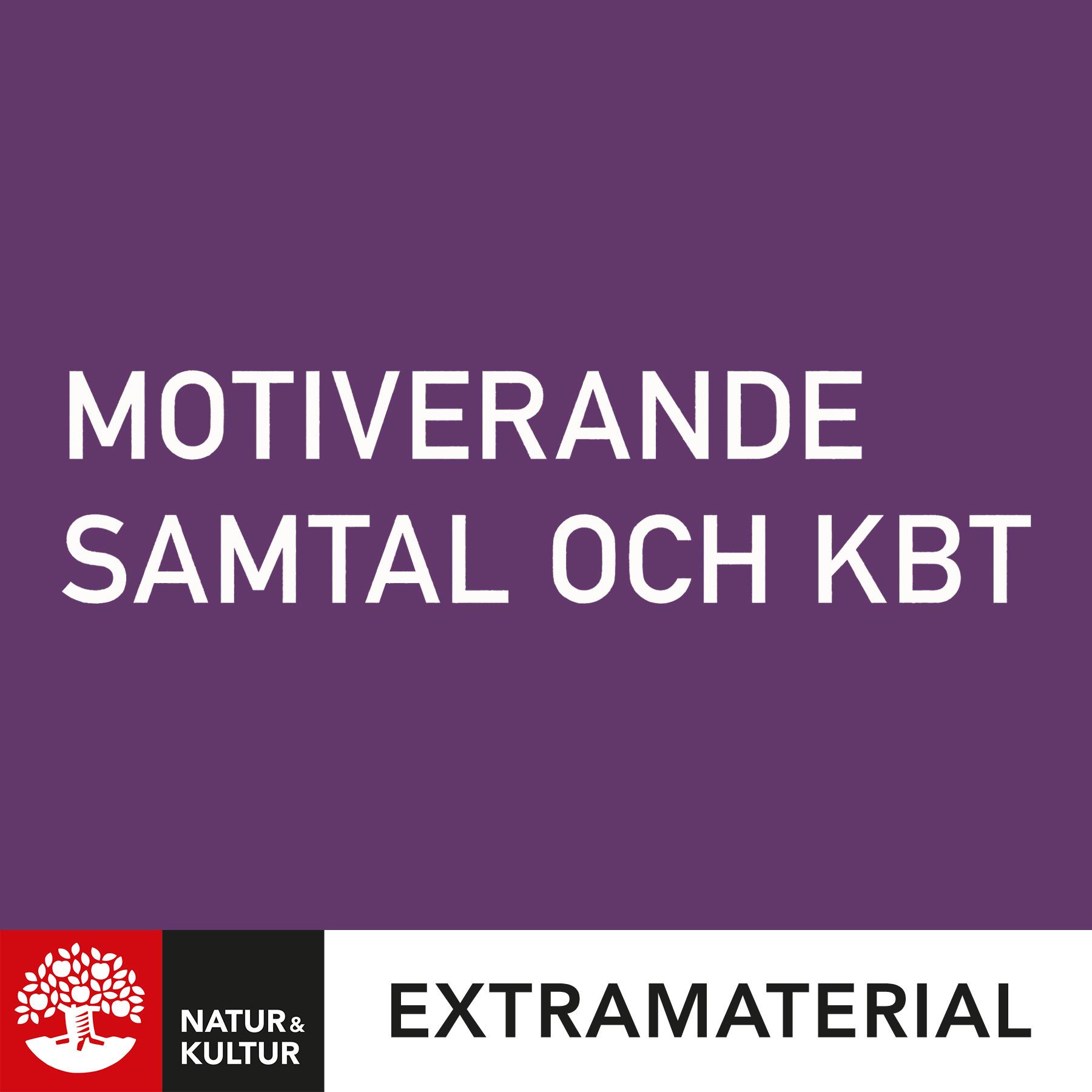 Motiverande samtal och KBT